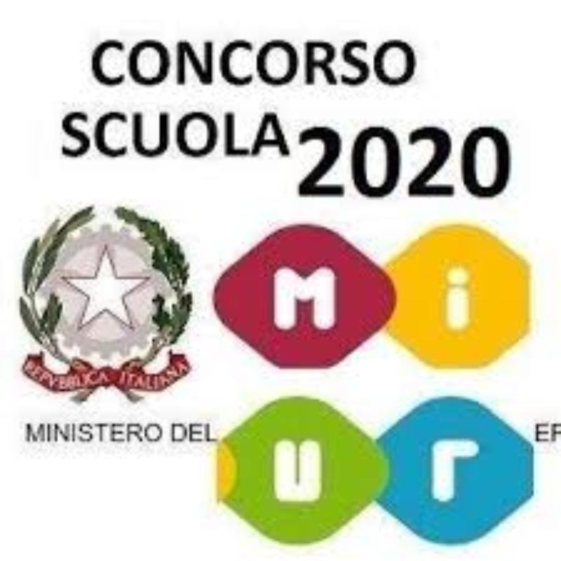OGGETTO: D.D. n. 510 del 23/04/2020 e D.D. n. 783 del 08/07/2020- Concorso Straordinario